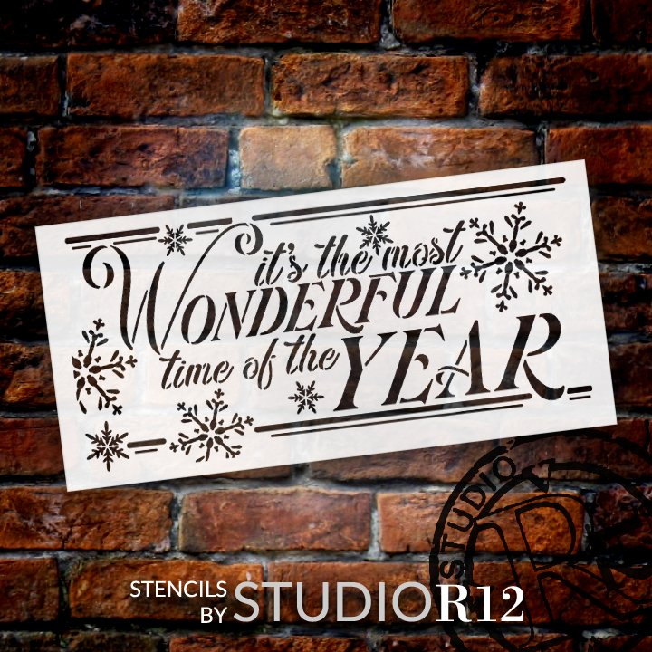 chalk,   			                 chalkboard,   			                 Christmas,   			                 Christmas & Winter,   			                 Christmas song,   			                 Country,   			                 Farmhouse,   			                 Holiday,   			                 holiday song,   			                 Home,   			                 Home Decor,   			                 large snowflake,   			                 snow,   			                 snowflake,   			                 Snowflakes,   			                 snowing,   			                 snowy,   			                 song,   			                 stencil,   			                 Stencils,   			                 Studio R12,   			                 StudioR12,   			                 StudioR12 Stencil,   			                 Studior12 Stencils,   			                 Template,   			                 winter song,   			                 wonderful,