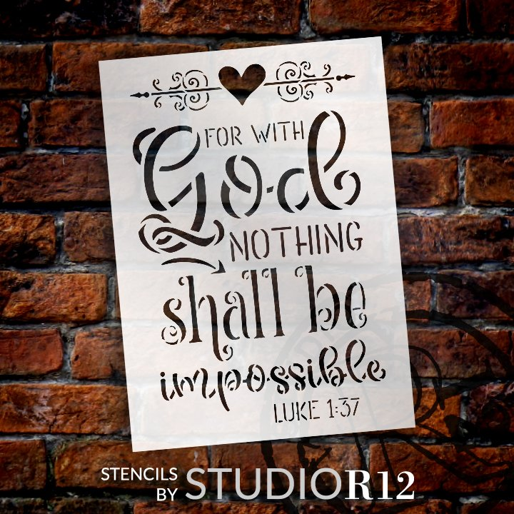 Bible Verse,   			                 chalk,   			                 chalkboard,   			                 Craft,   			                 DIY,   			                 Faith,   			                 Flexible Mylar,   			                 Home Decor,   			                 Hope,   			                 Inspiration',   			                 Paint,   			                 Prayer,   			                 Reusable template,   			                 Stencil,   			                 StudioR12,