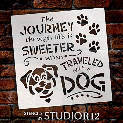 Animal,   			                 animals,   			                 art,   			                 Art Stencil,   			                 Art Stencils,   			                 diy,   			                 diy decor,   			                 diy wood sign,   			                 Dog,   			                 Dog love,   			                 Farmhouse,   			                 heart,   			                 Home Decor,   			                 house,   			                 journey,   			                 life,   			                 Mixed Media,   			                 New Product,   			                 paw,   			                 pawprint,   			                 positive,   			                 puppy,   			                 square,   			                 Stencils,   			                 Studio R 12,   			                 StudioR12,   			                 StudioR12 Stencil,   			                 sweet,   			                 Template,   			                 travel,   			                 Welcome,   			                 Welcome Sign,   			                 wood sign,   			                 wood sign stencil,