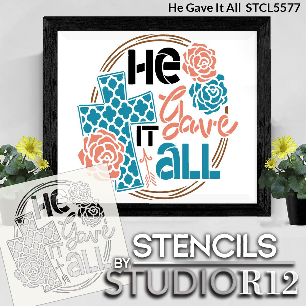 Arrow,   			                 art,   			                 Art Stencil,   			                 Christian,   			                 craft,   			                 cross,   			                 Cursive,   			                 cursive script,   			                 decorative,   			                 diy,   			                 diy decor,   			                 diy sign,   			                 diy wood sign,   			                 Easter,   			                 Faith,   			                 Family,   			                 flower,   			                 God,   			                 Holiday,   			                 Home,   			                 Home Decor,   			                 Inspiration,   			                 Inspirational,   			                 Inspirational Quotes,   			                 jesus,   			                 New Product,   			                 paint,   			                 paint wood sign,   			                 Quatrefoil,   			                 religious,   			                 Reusable Template,   			                 rose,   			                 script,   			                 Spring,   			                 stencil,   			                 Stencils,   			                 Studio R 12,   			                 Studio R12,   			                 StudioR12,   			                 StudioR12 Stencil,   			                 Studior12 Stencils,   			                 Template,   			                 template stencil,   			                 wood sign stencil,   			                 word art,