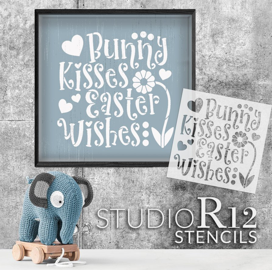 art,   			                 Art Stencil,   			                 bunny,   			                 craft,   			                 decorative,   			                 diy,   			                 diy decor,   			                 diy sign,   			                 diy stencil,   			                 diy wood sign,   			                 Easter,   			                 easter bunny,   			                 flower,   			                 hearts,   			                 Holiday,   			                 Home,   			                 Home Decor,   			                 kisses,   			                 New Product,   			                 paint,   			                 paint wood sign,   			                 Reusable Template,   			                 Sign,   			                 Spring,   			                 stencil,   			                 Stencils,   			                 Studio R 12,   			                 Studio R12,   			                 StudioR12,   			                 StudioR12 Stencil,   			                 Studior12 Stencils,   			                 Template,   			                 template stencil,   			                 Wish,   			                 wood sign,   			                 wood sign stencil,   			                 word art,