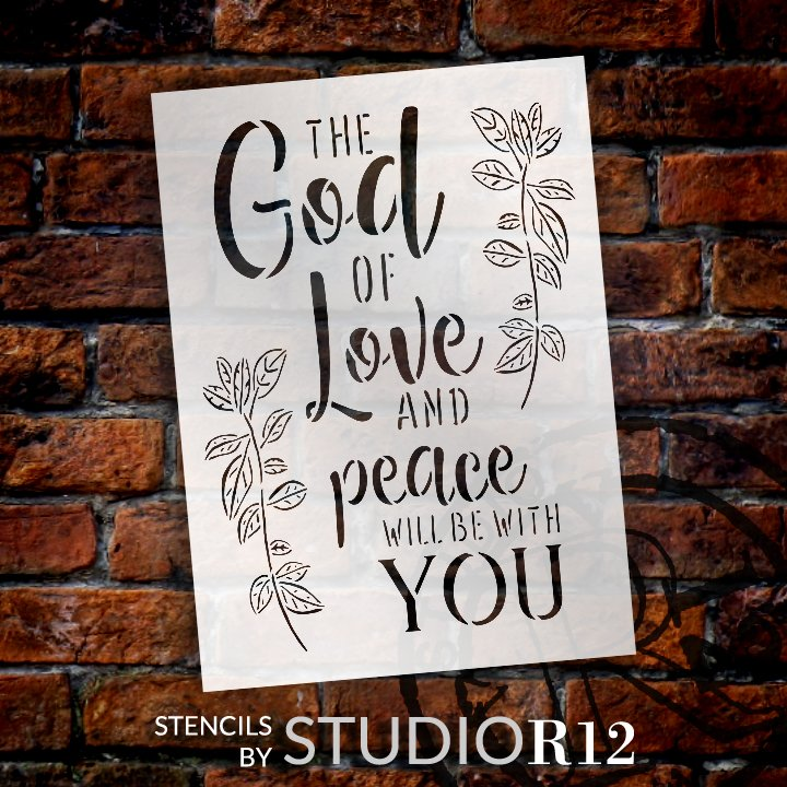 Christian,   			                 Craft,   			                 DIY,   			                 Faith,   			                 Flexible Mylar,   			                 Home,   			                 Home Decor,   			                 Inspiration,   			                 Inspirational Quotes,   			                 Paint,   			                 Reusable template,   			                 Stencil,   			                 StudioR12,   			                 Wood Sign,