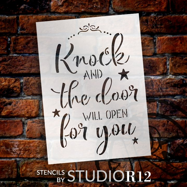Craft,   			                 DIY,   			                 Faith,   			                 Family,   			                 Home Decor,   			                 Inspiration,   			                 Paint,   			                 Religious,   			                 Reusable Template,   			                 Stencil,   			                 StudioR12,   			                 Wood sign,