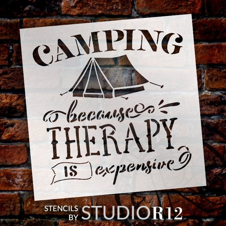Adventure,   			                 Camp,   			                 camper,   			                 campground,   			                 Camping,   			                 Campsite,   			                 diy home decor,   			                 Home,   			                 Home Decor,   			                 Outdoor,   			                 outside,   			                 reusable mylar template,   			                 RV,   			                 stencil,   			                 Stencils,   			                 Studio R12,   			                 StudioR12,   			                 StudioR12 Stencil,   			                 Summer,   			                 Template,   			                 therapy,   			                 Travel,