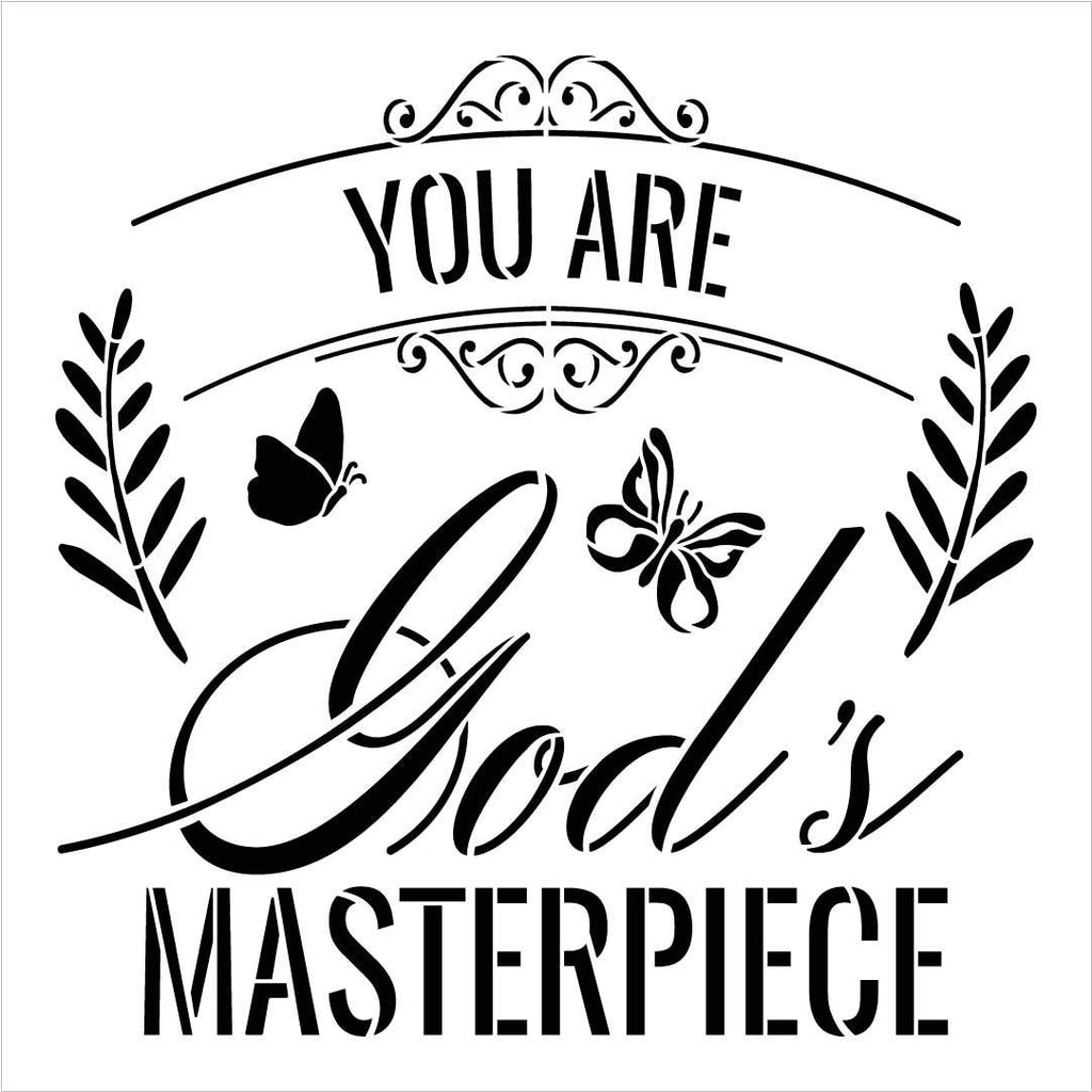 Christian,   			                 Craft,   			                 DIY,   			                 Faith,   			                 Flexible Mylar,   			                 Home decor,   			                 Hope,   			                 Inspiration,   			                 Inspirational Quotes,   			                 Paint,   			                 Quotes,   			                 Religion,   			                 Reusable Template,   			                 Stencil,   			                 Stencils,   			                 StudioR12,   			                 StudioR12 Stencil,