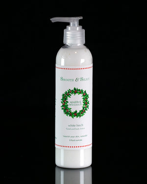 white birch smooth and silky lotion