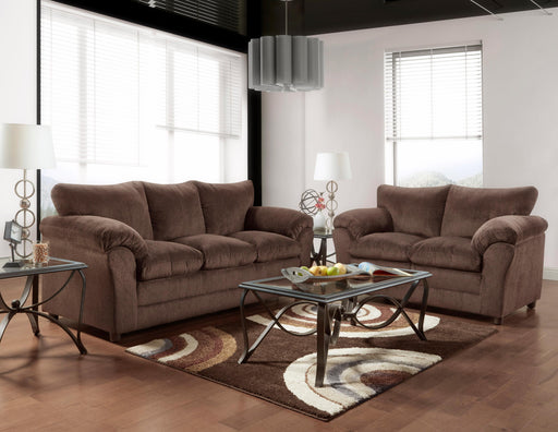 Kelly Chocolate Sofa - @ARFurnitureMart