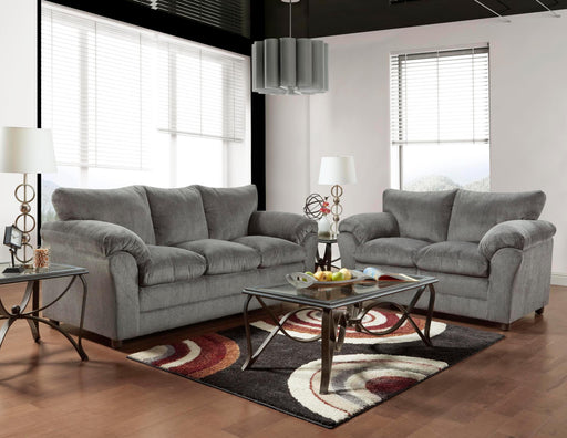 Kelly Gray Sofa - @ARFurnitureMart