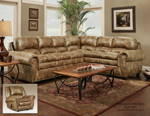 Padre' Almond Sectional - @ARFurnitureMart