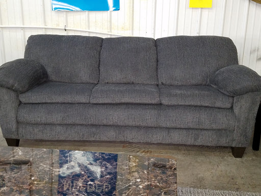 Grady Gray Cloth Sofa And Love Seat Set