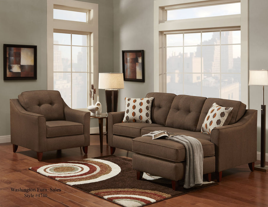 Stoked Chocolate Sectional - @ARFurnitureMart
