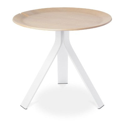 Side Table White/Natural