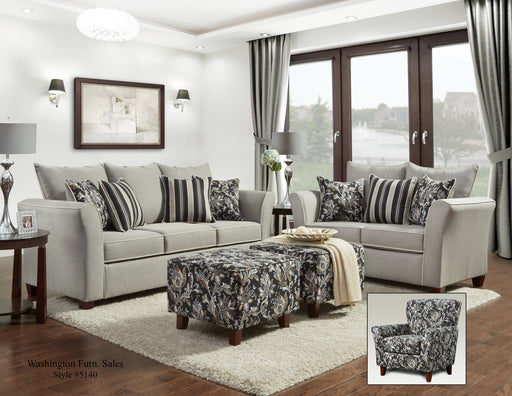 Sadie Gray Sofa And Loveseat Set