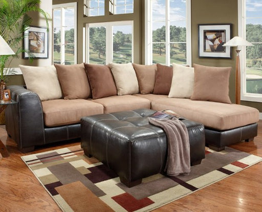 Sea Rider Saddle Sectional - @ARFurnitureMart
