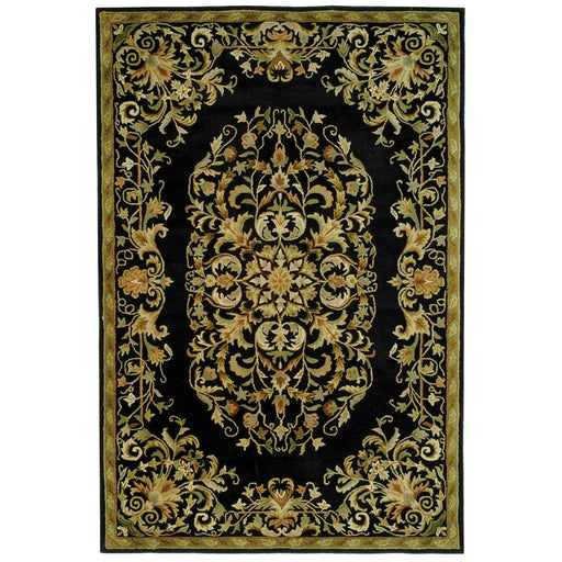 Safavieh Heritage Collection HG640C Handcrafted Traditional Oriental Red Wool Runner - @ARFurnitureMart