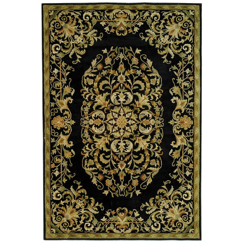 Safavieh Heritage Collection HG640C Handcrafted Traditional Oriental Red Wool Runner