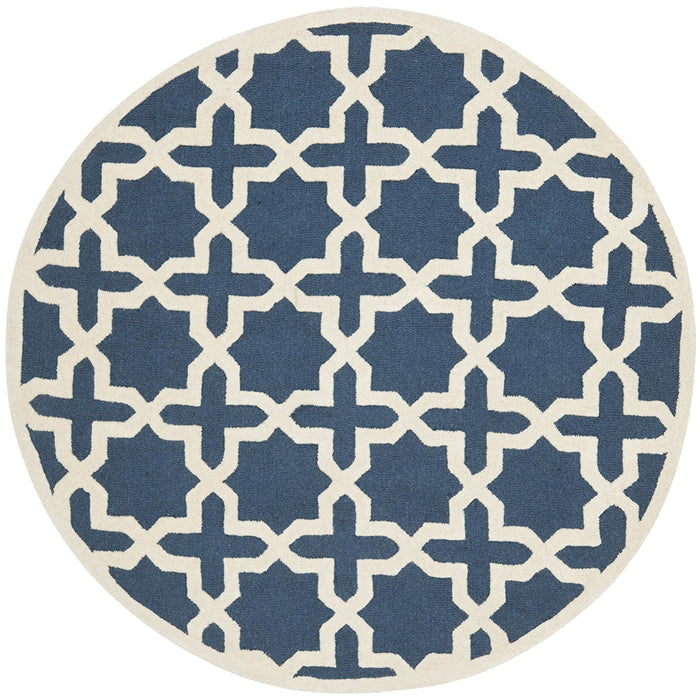 Safavieh Cambridge Collection Moroccan Geometric Round Area Rug - @ARFurnitureMart