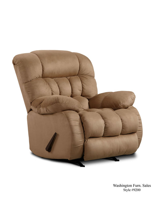 Softsuede Taupe Recliner - @ARFurnitureMart