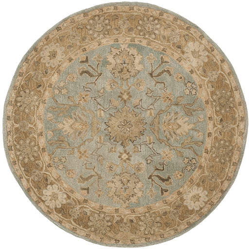Safavieh Anatolia Collection AN585G Handmade Traditional Oriental Grey and Dark Grey Wool Runner - @ARFurnitureMart