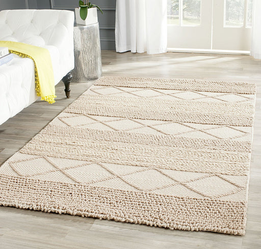 Safavieh NAT217A-10 Natura Collection Handmade Wool Area Rug - @ARFurnitureMart