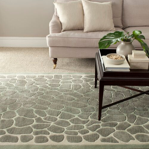 Arusha Hand-Tufted Grassland Green Area Rug 2'3'' x 10'
