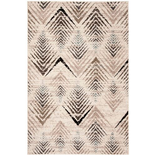 Alioth Cream/Beige Area Rug 4' x 6'