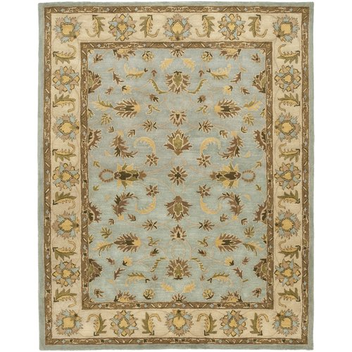 Cranmore Light Blue/Beige Area Rug 7'6'' x 9'6''