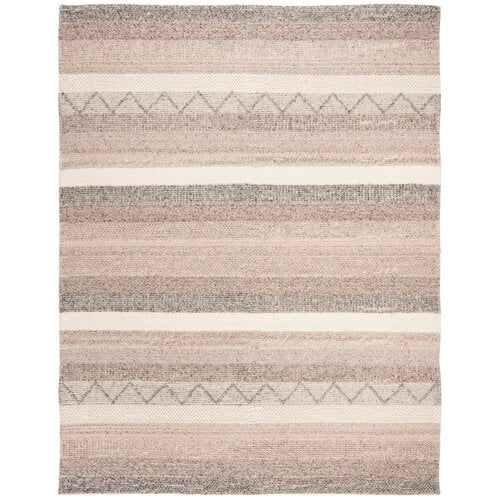 Daytona Beach Hand-Tufted Borwn/Beige Area Rug 10' x 14'