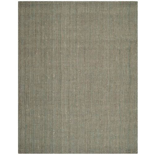 Calidia Hand-Loomed Gray Area Rug 9' x 9' Square