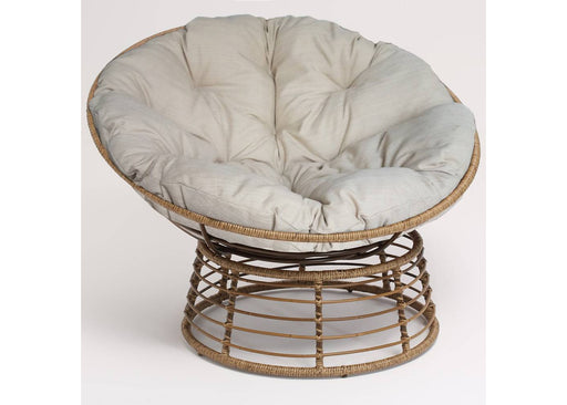 Wicker Papasan Chair with Cushion