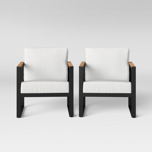 Henning 2pk Patio Club Chair - Project 62