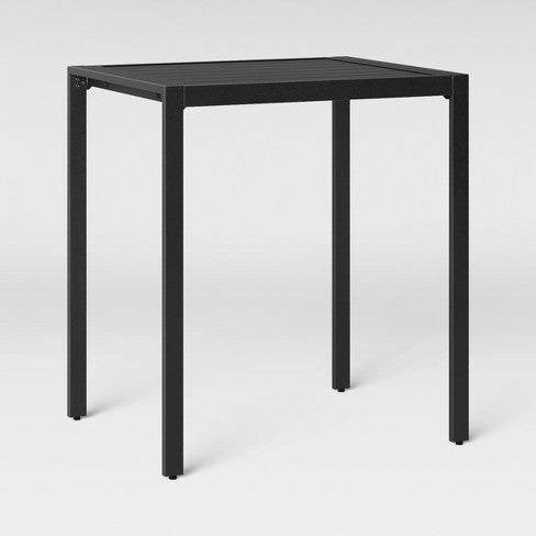Standish Bar Height Patio Table Black - Project 62