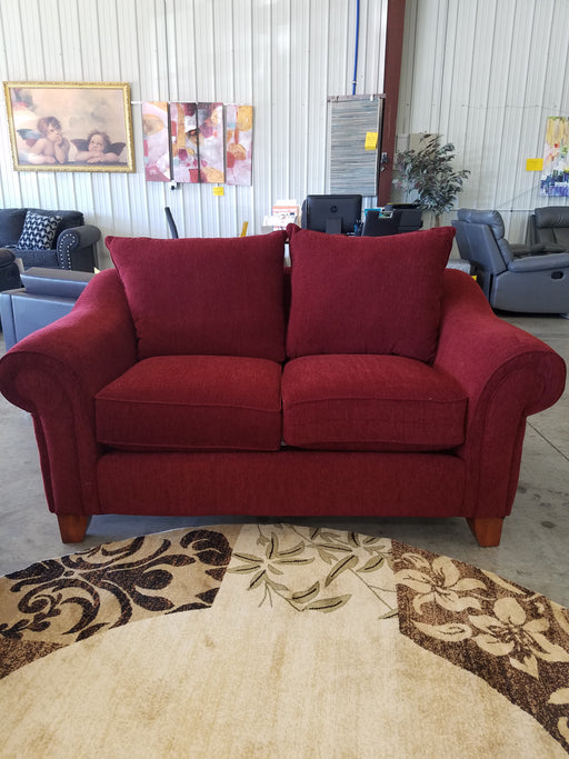 Red Sofa and Love Seat Set