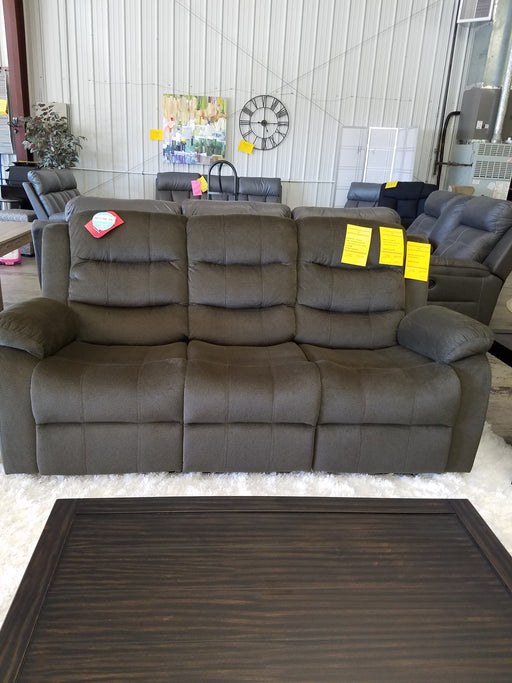Brown Cloth Reclining Sofa Set Coaster 601882