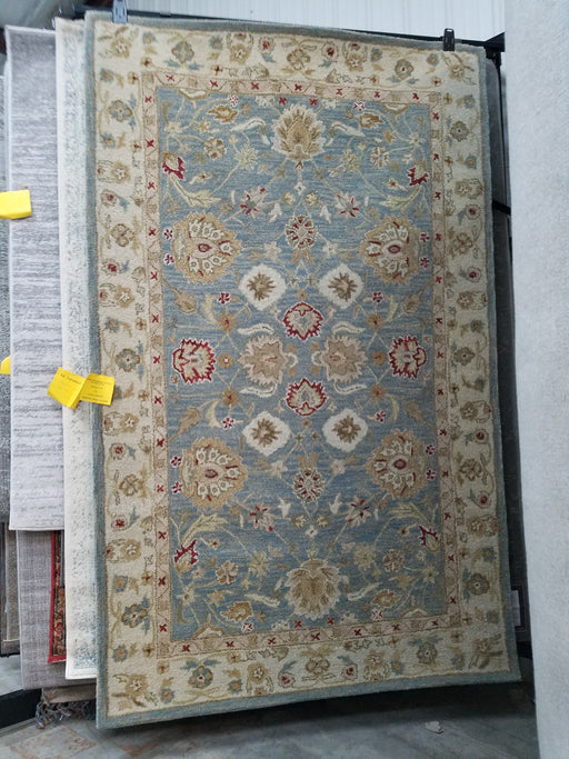 Otwell Gray/Blue/Beige Area Rug