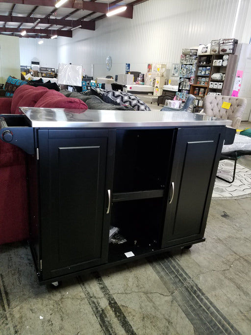 Lomas Stainless Steel Kitchen Island