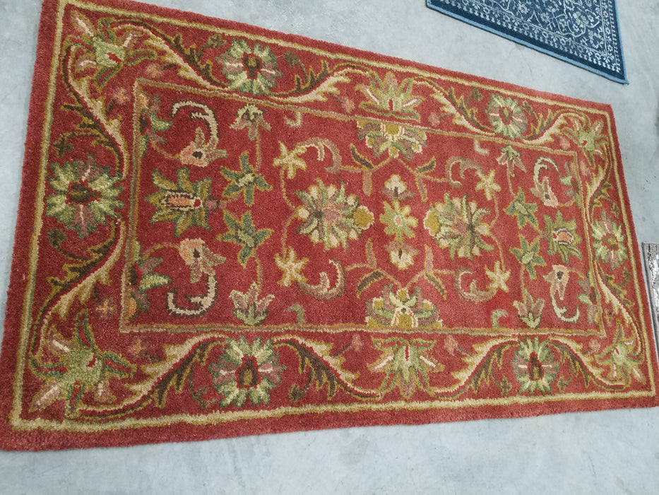 Pennypacker Red 2'3''x4  Rug