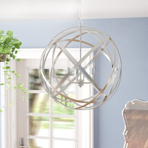Kierra 4-Light Globe Pendant