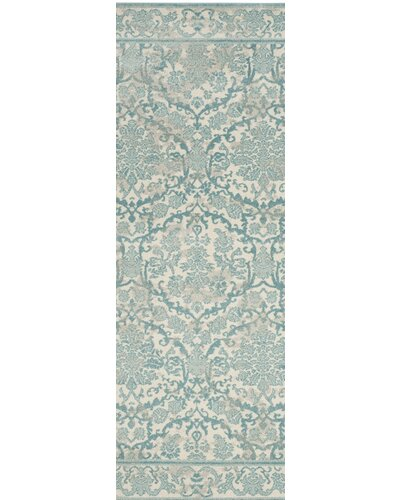 Montelimar Ivory/Light Blue Area Rug 2'2'' x 9'