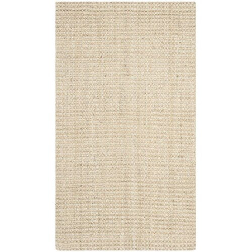 Muriel Hand-Woven Ivory Area Rug