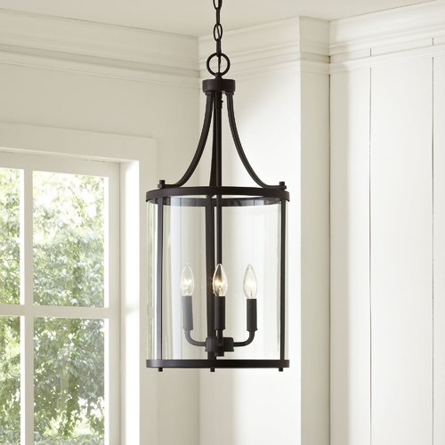 Northport 3-Light Lantern Chandelier Finish: Oil-Rubbed Bronze