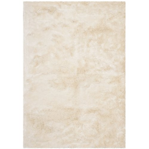 Oakdene Hand-Tufted Polyester Ivory Area Rug