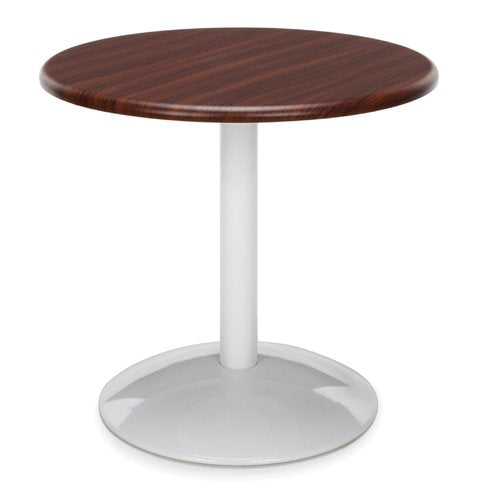 Orbit Round Table Top Finish: Mahogany