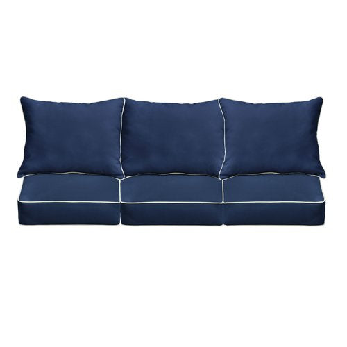 Ginsberg Indoor/Outdoor Sunbrella Sofa Cushion