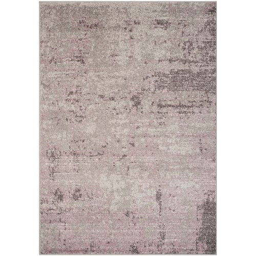 Costa Mesa Light Gray/Purple Area Rug 9' x 12'