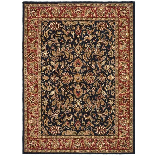 Balthrop Black/Red Area Rug - @ARFurnitureMart