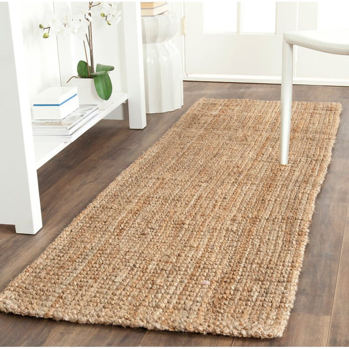 Richmond Hand-Woven Brown Area Rug Size: 2'3''x17' Runner