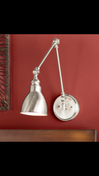 Gardenhire Swing Arm Lamp Finish: Polished Nickel