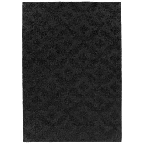 Spafford Black Area Rug 12' x 12' Square