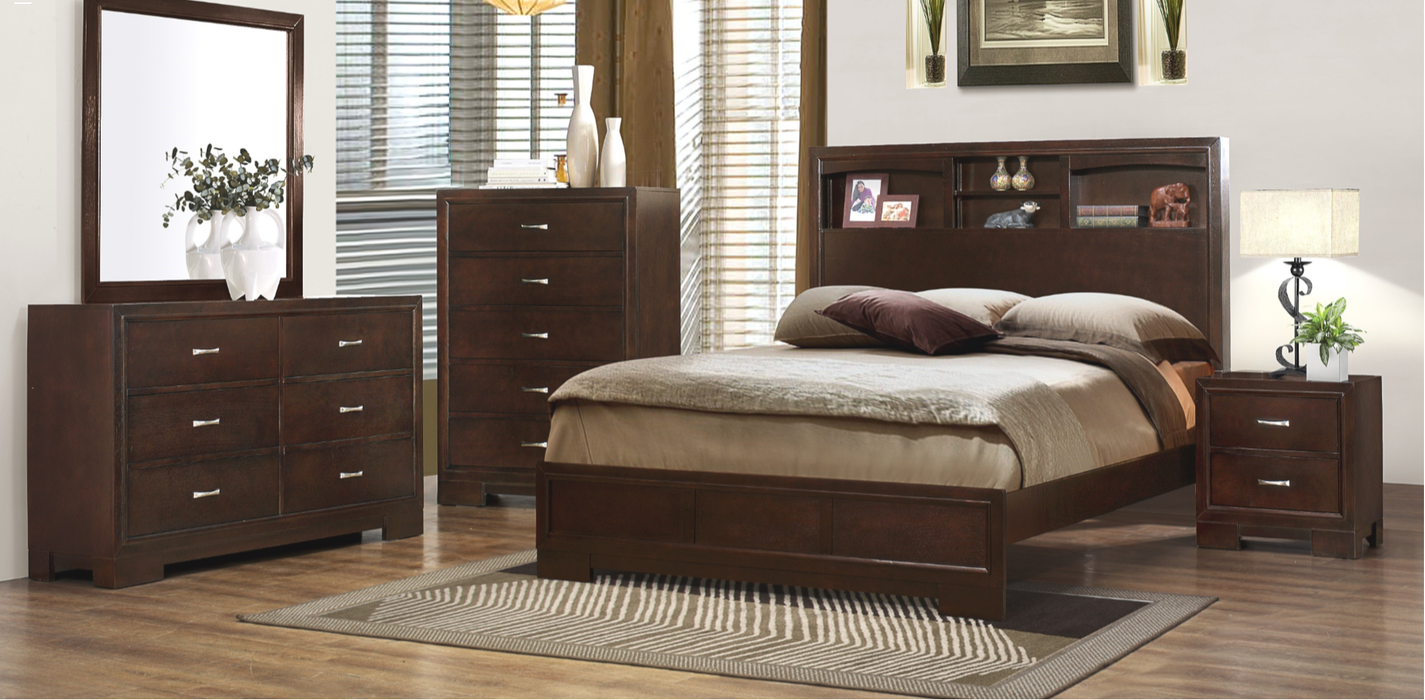 Carlson Bookcase Bedroom Group